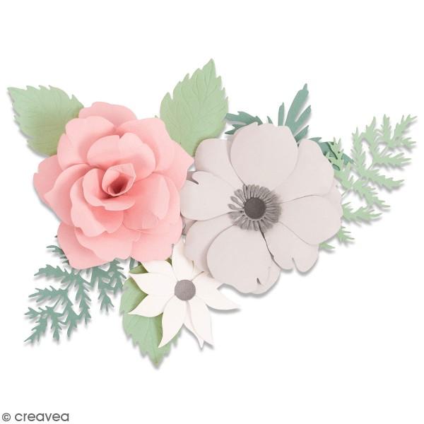 Set de matrices Sizzix Thinlits - Boutonnière Florale - 7 Pcs - Photo n°1