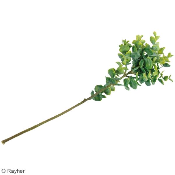 Plante Artificielle avec tige - Branche de buis - 40 cm - Photo n°4