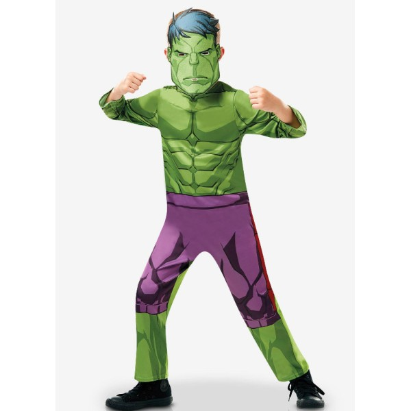Déguisement Hulk Avengers - 3/4 ans ( taille S) - Photo n°1