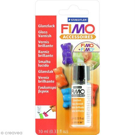 Vernis brillant Fimo à base d'eau 10ml - Photo n°1