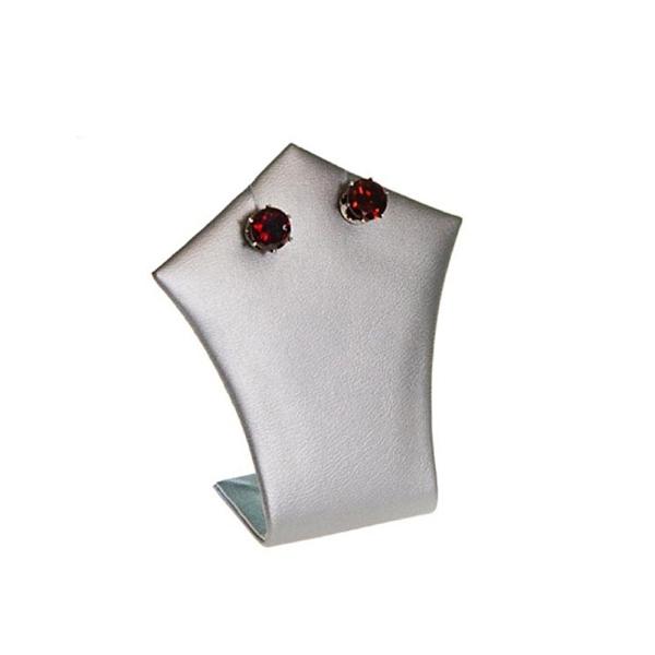 Porte bijoux mini support bijoux pique pour collier ou boucle d'oreille h 7 cm Argenté - Photo n°1