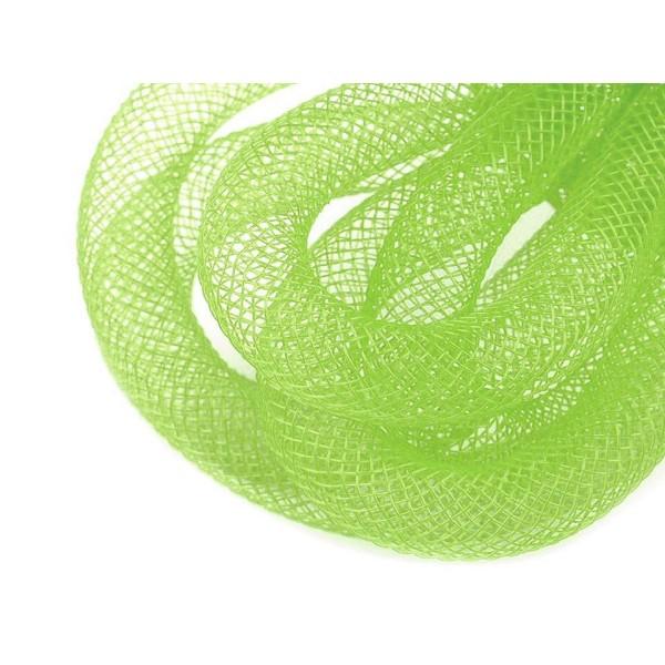 25m 5green Lumière Crinoline Maille Tube, Douche de Bébé, en Plastique Net Fil Cordon Ø10mm, Et d'Au - Photo n°1