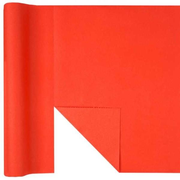 Chemin de table Rainbow prédécoupé 3 en 1 coloris rouge - Photo n°1