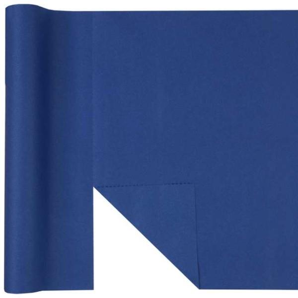 Chemin de table Rainbow prédécoupé 3 en 1 coloris bleu - Photo n°1
