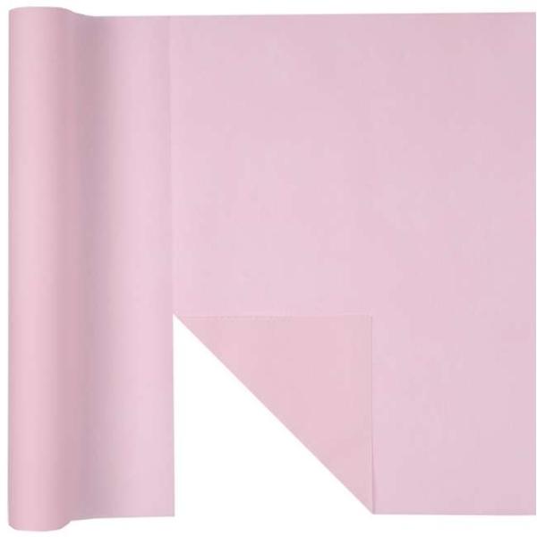 Chemin de table Rainbow prédécoupé 3 en 1 coloris rose - Photo n°1