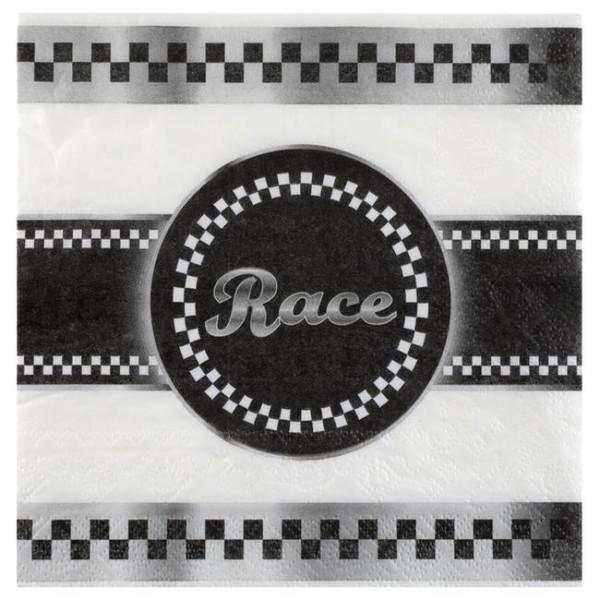 100 Serviettes en papier F1 Racing Car - Photo n°1