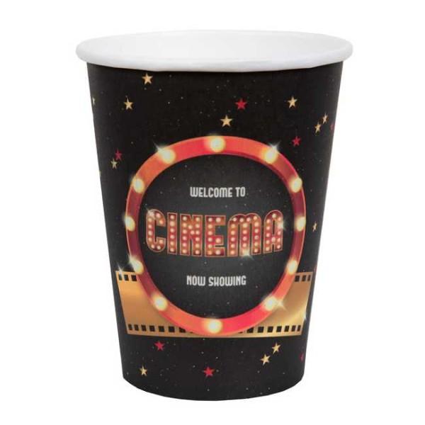 20 Gobelets en carton thème Cinéma - Photo n°1
