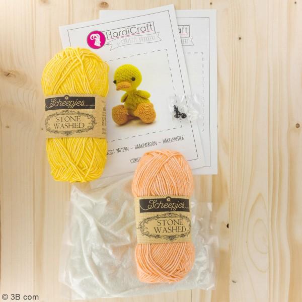 Kit crochet - Abby Le Canard - 25 cm - Photo n°3