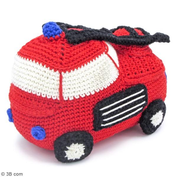 Kit crochet - Camion de Pompier - 16 cm - Photo n°2