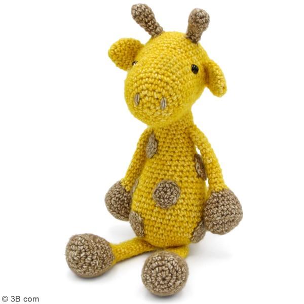 Kit crochet - George La Girafe - 30 cm - Photo n°2