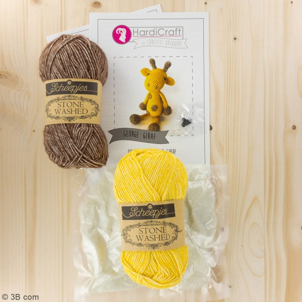Kit crochet - George La Girafe - 30 cm - Photo n°3