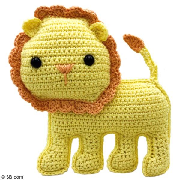 Kit crochet - Luca le Lion - 14 cm - Photo n°2