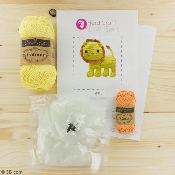 Kit crochet - Luca le Lion - 14 cm - Photo n°3