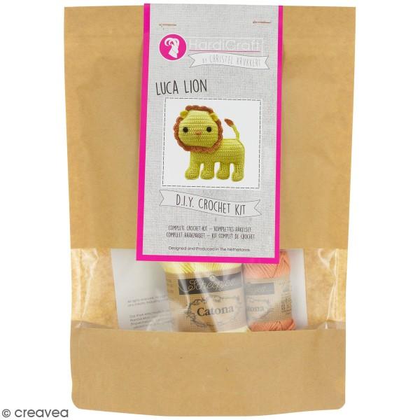 Kit crochet - Luca le Lion - 14 cm - Photo n°1