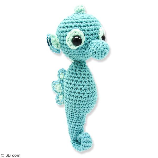 Kit crochet - Molly l'Hippocampe - 17 cm - Photo n°2