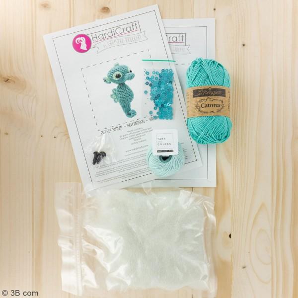 Kit crochet - Molly l'Hippocampe - 17 cm - Photo n°3