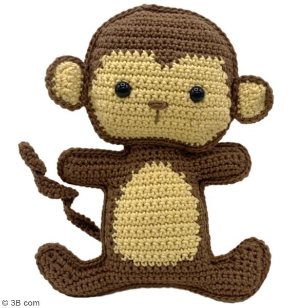 Kit crochet - Morris le Singe - 17 cm - Photo n°2