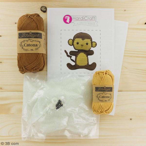 Kit crochet - Morris le Singe - 17 cm - Photo n°3