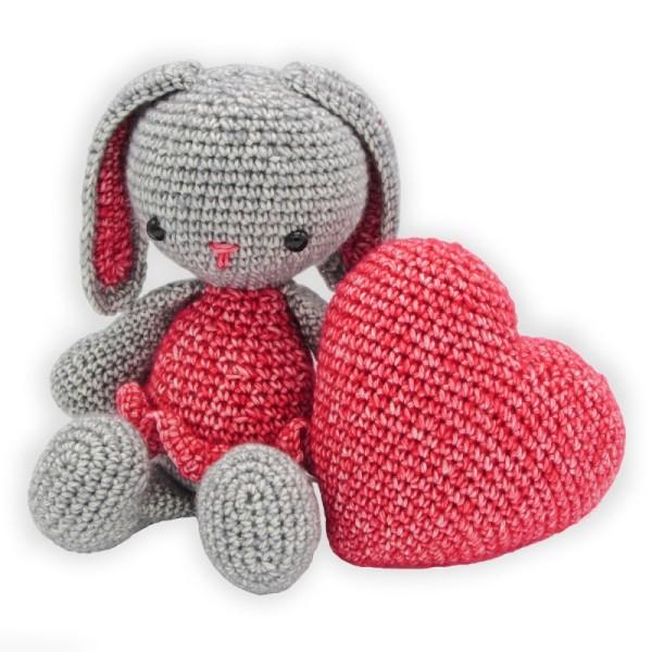 Kit crochet - Pippa la Lapine - 20 cm - Photo n°2