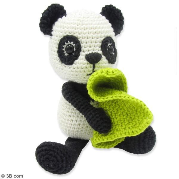 Kit crochet - Tom le Panda - 22 cm - Photo n°2