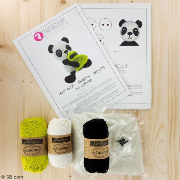 Kit crochet - Tom le Panda - 22 cm - Photo n°3