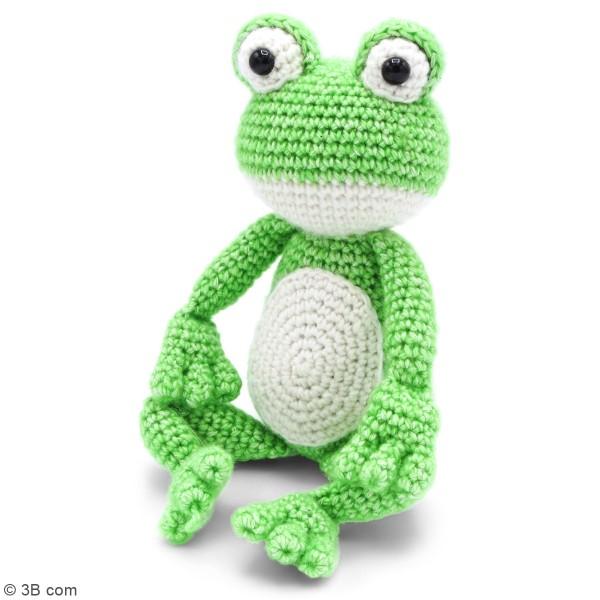 Kit crochet - Vinny la Grenouille - 30 cm - Photo n°2