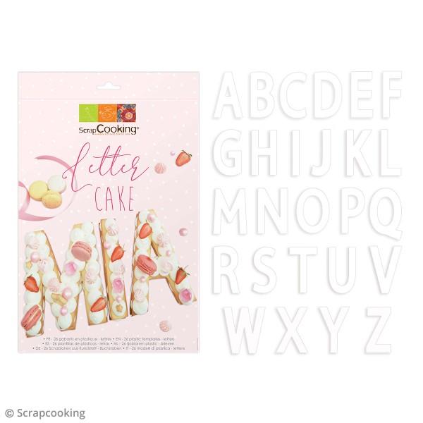 Lot de découpoirs Letter cake - 26 pcs - Photo n°3