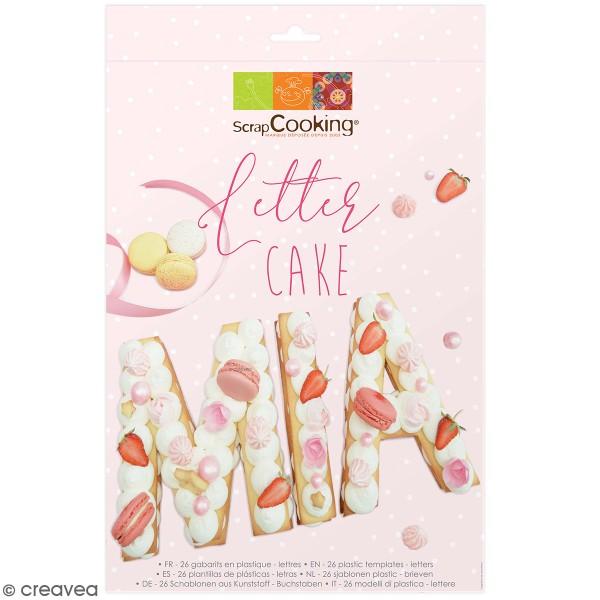 Lot de découpoirs Letter cake - 26 pcs - Photo n°1