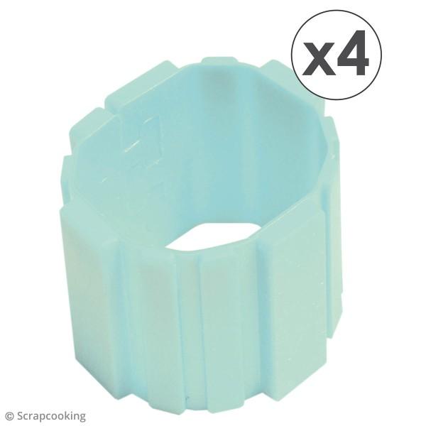 Silicone Flexi mold - 4 bandes à assembler - Photo n°4