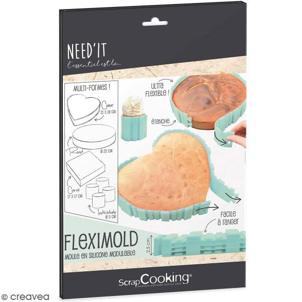 Silicone Flexi mold - 4 bandes à assembler - Photo n°1