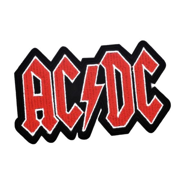 Ecusson brodé AC/DC patch thermocollant hard rock music 12 cm - Photo n°1