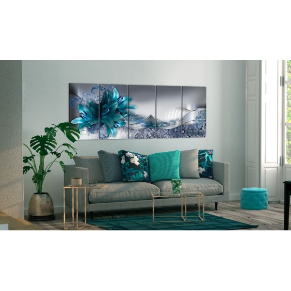 Tableau - Arctic Lilies .Taille : 200x80 - Photo n°1