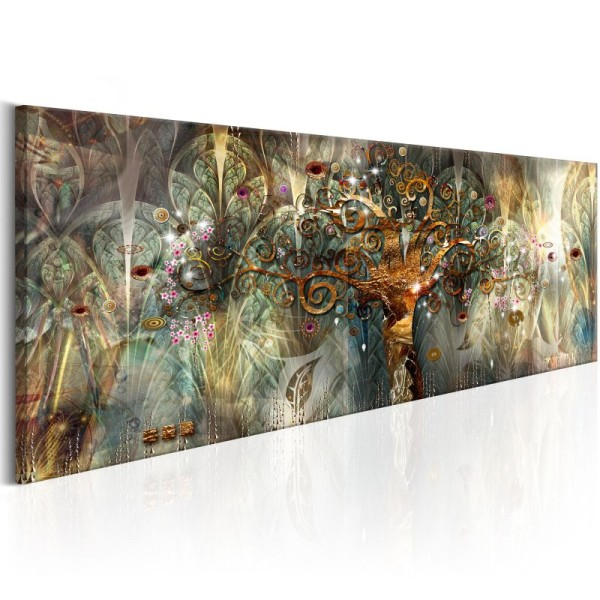 Tableau - Land of Happiness .Taille : 135x45 - Photo n°1