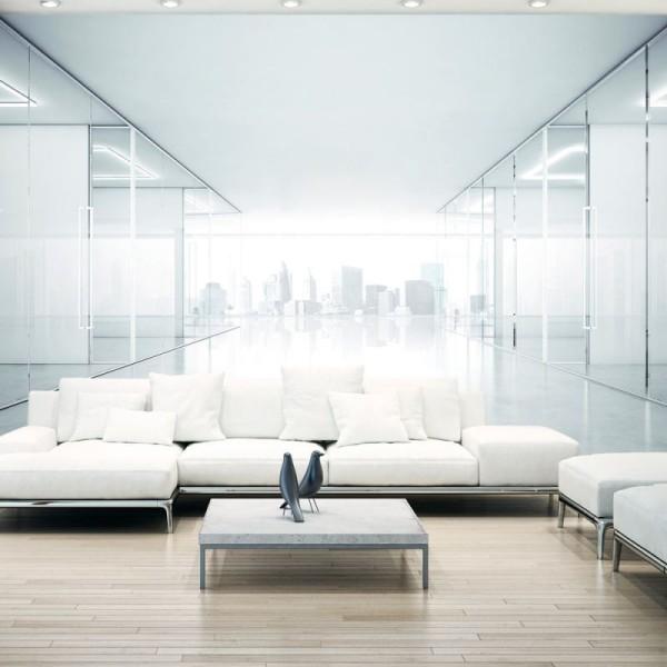 Papier peint - White City .Taille : 350x245 - Photo n°1