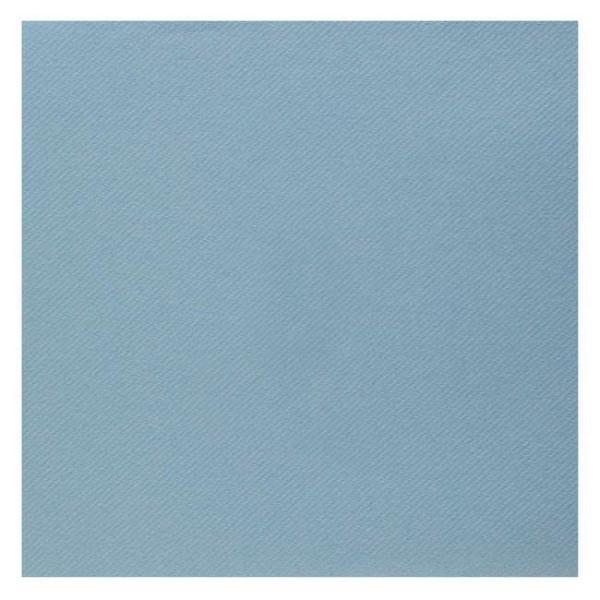 25 Serviettes 40 cm x 40 cm coloris bleu clair haut de gamme - Photo n°1