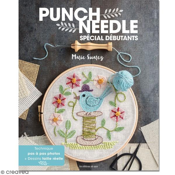 Livre Punch Needle - Spécial débutants - 20 modèles - Photo n°1