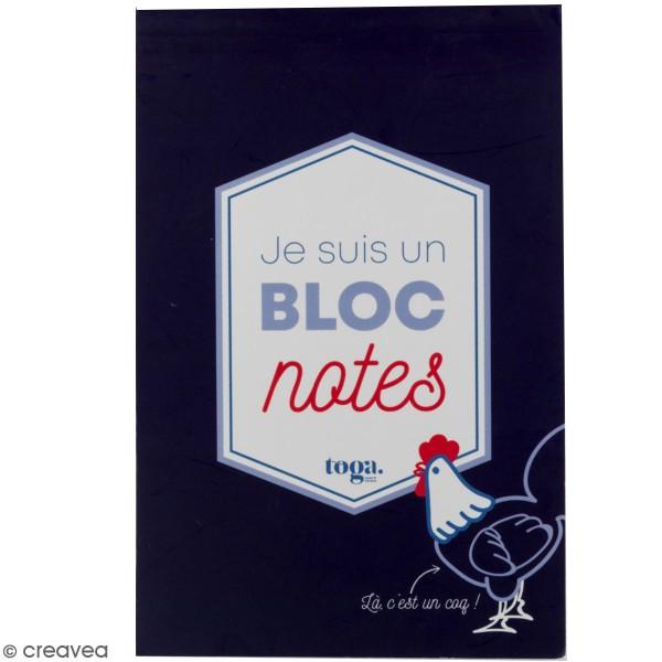 Carnet de notes Frenchy de Toga - 11,7 x 17 cm - 100 pages - Photo n°1