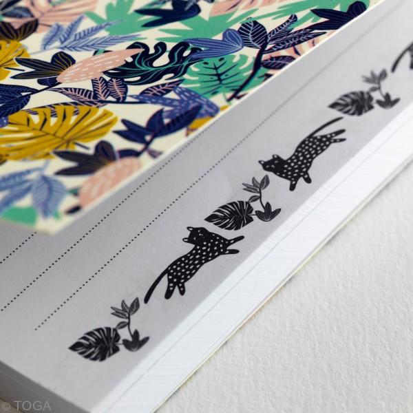 Carnet de note Toga format 11,7 x 17 cm - Urban Jungle - 100 pages - Photo n°2