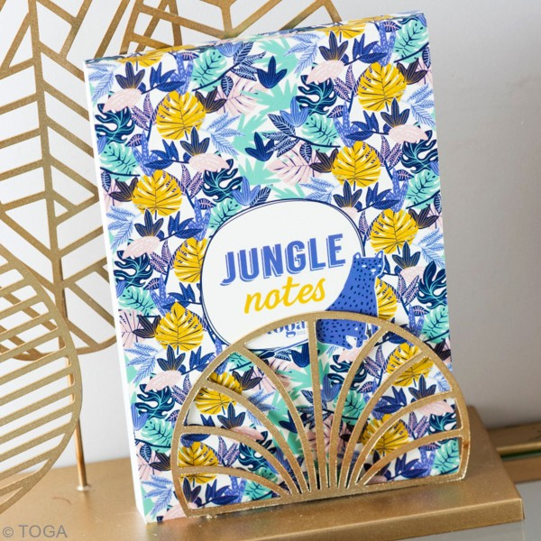 Carnet de note Toga format 11,7 x 17 cm - Urban Jungle - 100 pages - Photo n°3