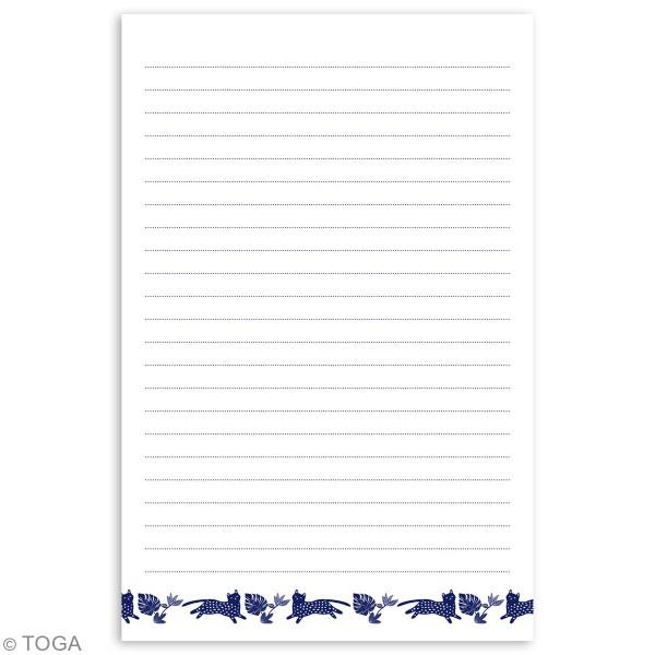 Carnet de note Toga format 11,7 x 17 cm - Urban Jungle - 100 pages - Photo n°4