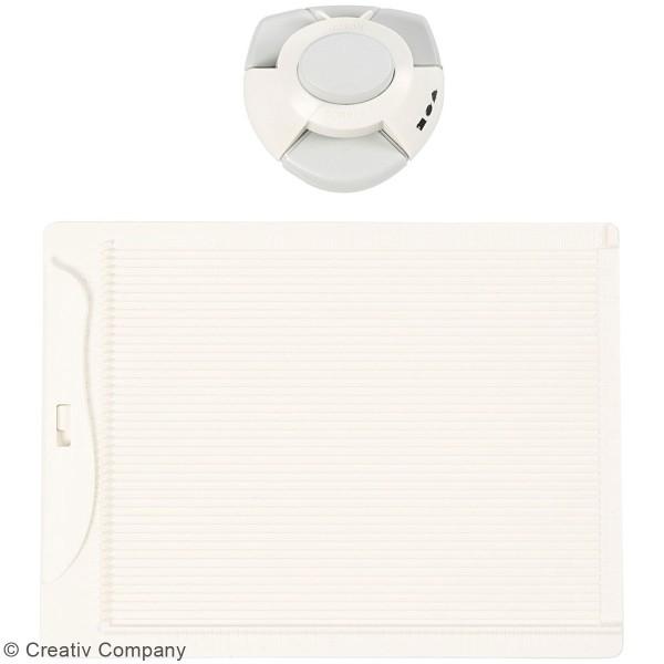 Kit de création enveloppe et carte avec perforatrice Creotime - 3 pcs - Photo n°5