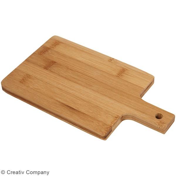Planche à découper en bambou à suspendre - 25 x 14 cm - Photo n°2