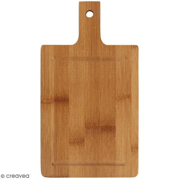 Planche à découper en bambou à suspendre - 25 x 14 cm - Photo n°1