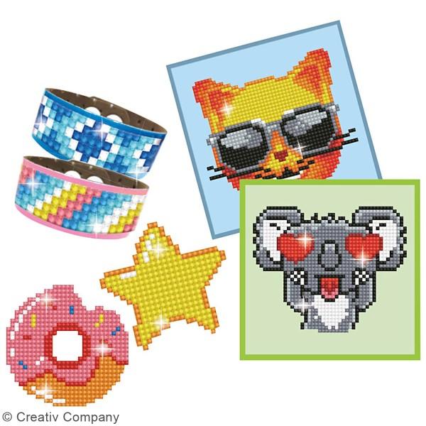 Kit multi-créations Koala Diamond painting - Diamond Dotz - 6 Pcs - Photo n°2
