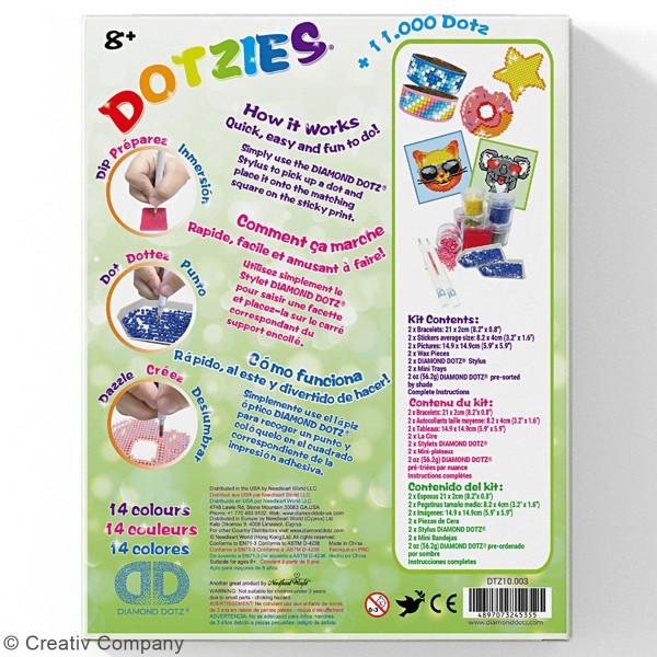 Kit multi-créations Koala Diamond painting - Diamond Dotz - 6 Pcs - Photo n°3