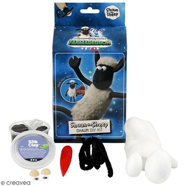 Kit activité enfant - Modelage Silk Clay  - Shaun Le Mouton - Photo n°1