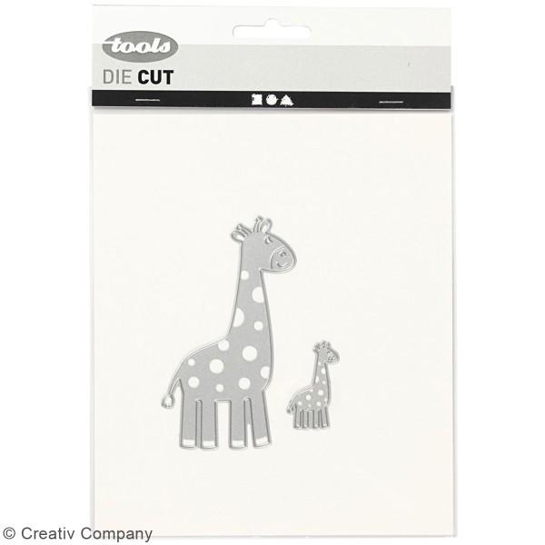 Matrice de coupe Creotime - Girafe - 9,2 x 5,4 cm et 3,5 x 2,1 cm Environ - 2 Pcs - Photo n°2