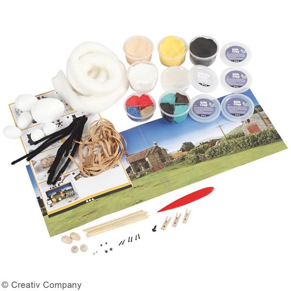 Kit activité enfant - Modelage Ferme de Shaun le mouton - Photo n°2