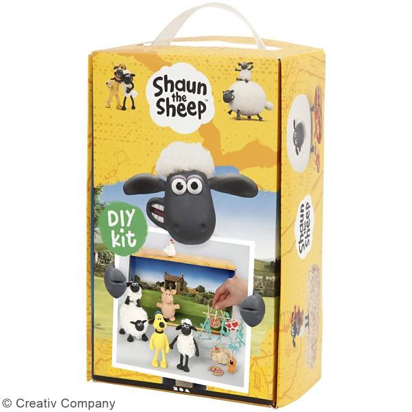 Kit activité enfant - Modelage Ferme de Shaun le mouton - Photo n°3