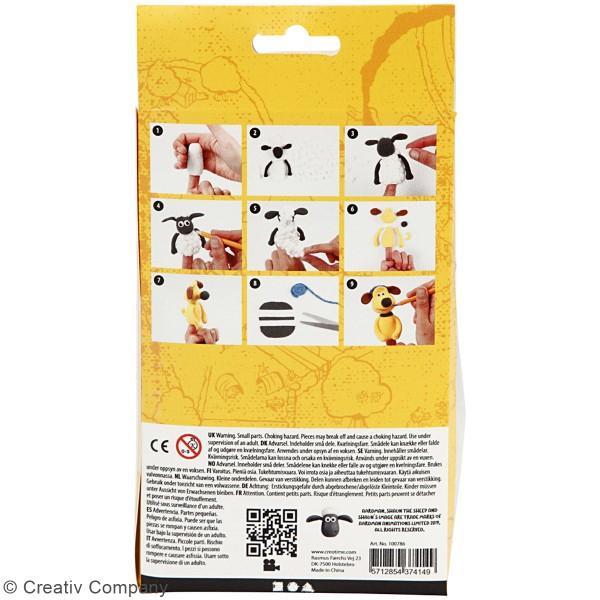 Kit modelage Silk Clay Shaun le mouton - Marionnettes à doigt - Photo n°4